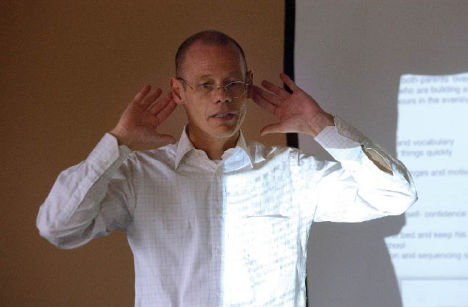Samonas Auditory Intervention founder Ingo Steinbach